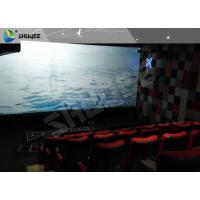 Sound Vibration Motion Imax Movie Theater Red For Shopping Center