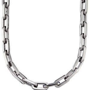 China Wedding Engagement mens fashion stainless steel long link chain necklaces jewelry on sale