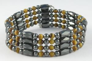 China Custom size color and logo fashion elegant ore magnetic bracelet health on sale