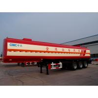 CIMC crude oil palm oil  edible oil tank semi trailer for sale