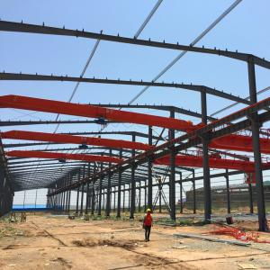 China Low Cost Prefab Steel Structure Industrial Workshop Design on sale