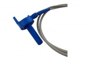 China Air Water Solar Micro Temperature Sensor Blue Plastic Housing With 10 Feet Cable on sale