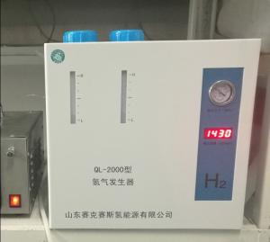 China PEM Hydrogen generator of gas equipment for GC usuage 2LPM 99.999% purity 4bar pressure electrolyzer on sale