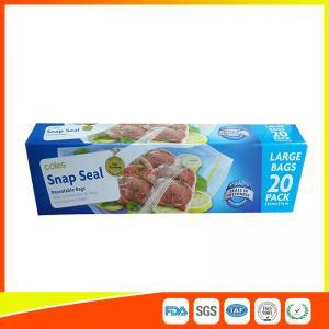 Quality Snap Seal Reusable Sandwich Bags For Coles Supermarket Large Size 35 27cm