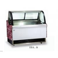 1500mm Ice Cream Showcase Freezer Tempered Glass With Transparent Conducting Films