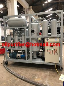 China Double Stage Vacuum Transformer insulation Oil Purifier Recycling Regeneration Plant, oil Decolorization factory sale on sale