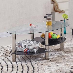 China Practical Center Coffee Table , Multi Purpose Oval Center Table on sale