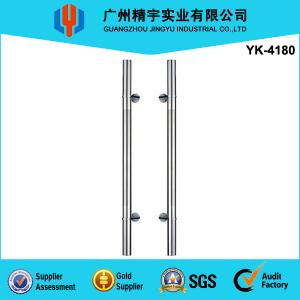 China Modern AISI304/316 Stainless Steel Glass Door Pull Handle(YK-4180) on sale