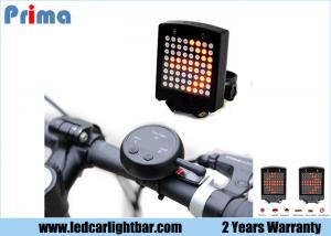 China 64 - LED Wireless LED Warning Lights For Bicycle Turn Signals Tail Light on sale