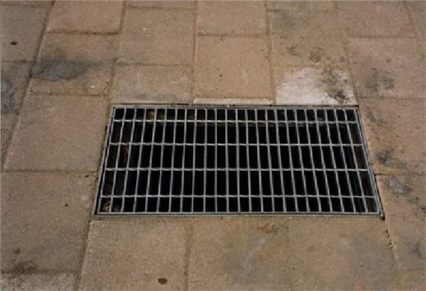 Heavy Duty Floor Drain Grate Covers , Stainless Steel Galvanised Drain Cover Images