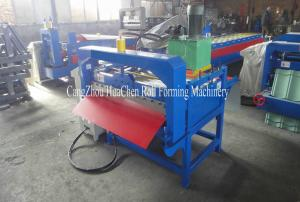 China Cut-to-Length Sheet Metal Cutting Machine Color Coated 3 Rows Rollers on sale