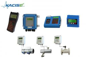 China High Accuracy Ultrasonic Flow Meter Contact / Non Contact For Liquid on sale