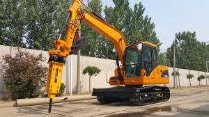China 8Ton DOOSAN Pump Yanmar Engine Hydraulic Crawler Excavator With Rubber Track on sale