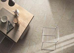 China High Precision Sandstone Porcelain Tiles , Glazed Ceramic Tile Five Colors Available on sale