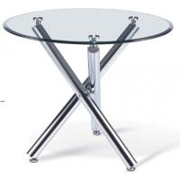 Modern round glass dining table furniture