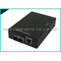 Fiber Optic Media Converter Multimode , Fibre Ethernet Converter 1000 Mbps Gigabit