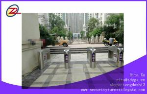 China Outdoor Entrance Swing Barrier Gate Pedestrian Turnstiles With Passenger Counter Function on sale