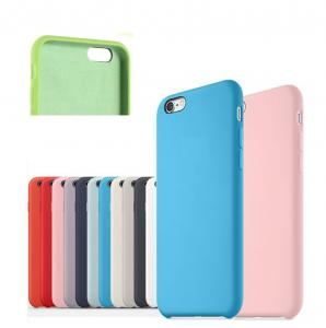 China Anti - Scratch Cell Phone Accessories 100% Original Official Silicone Case For IPhone on sale