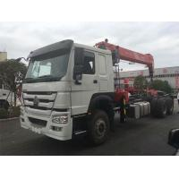 Commercial 12 Ton Boom Truck Crane 6x4 Driving Type 20.5m Max Lifting Height