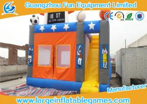 China Sport Theme Inflatable Bouncer Castle , Inflatable Bounce Jumper For Kids on sale