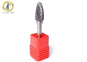 China Tree Radius End Shape F Carbide Die Grinder Bits , 3mm Carbide Cutting Burrs on sale