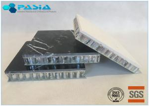 China 600*600 Sized With Customized Thickness Basalt Stone Honeycomb Panel supplier