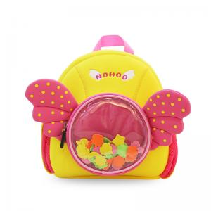 China Beautiful Angel Little Girl Backpacks , Cute Toddler Backpacks Eco Friendly on sale