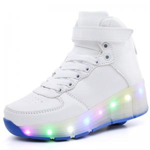 China Heely's Roller Shoes Roller Skate Shoes Led Light Up Glowing Sneakers on sale