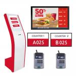 Bank/Hospital/Government Multiple Branch Wireless Or Wired LED/LCD Token Number queue management system