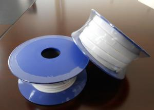 China Smooth Expanded PTFE Gasket Tape / One Side Adhesive PTFE Sealing Tape on sale