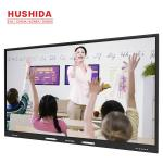 "400 Nits Touch Screen Interactive Whiteboard , 86"" All In On PC Whiteboard For School"
