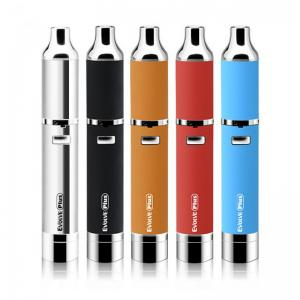 China Quartz Coil Wax Vaporizer Pen Kit Yocan Evolve Plus Built in silicone jar for wax on sale
