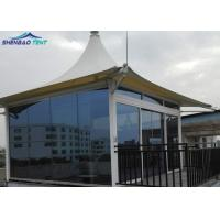 China Fashion Hotel Tensile Membrane Structure Architecture Tent With PVDF Cover on sale