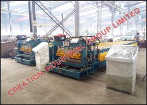 China Automatic Corrugated Iron Roofing Tile Sheet Making Machine, Metal Building Material Equipment on sale