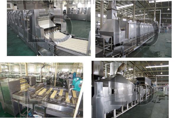 2large output instant noodles process line