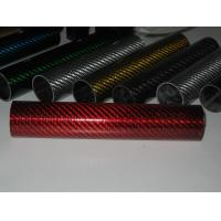 China glass fiber mixed carbon fiber pipe/tube on sale