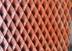 Custom Expanded Metal Sheet , Decorative Metal Sheets Hexagonal Pattern
