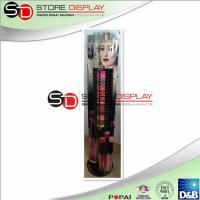 Lip Gloss Creative Cardboard Retail Displays , Semi Permanent Make Up Display