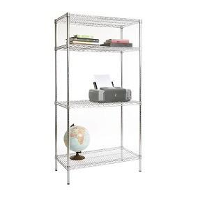 China Hardware Chrome Wire Storage Racks Office Supplies Placed 14 X 36 X 48 on sale