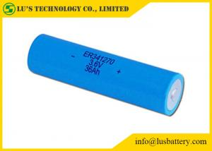 China Non Rechargeable Lithium Thionyl Chloride Battery Energy Type ER341270 3.6V on sale