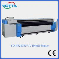 China uv led hybrid printer for both roll to roll and flat material wallpaper fabric on sale