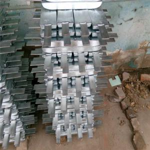 China Aluminium Sacrificial Anode Al-Zn-In Alloy Cathodic Protection Anode on sale