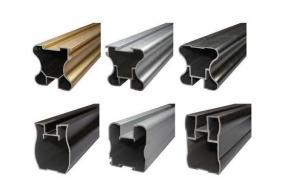 China Extruded Profile Bronze Powder Coating , Adhesive Aluminium Powder Coated on sale
