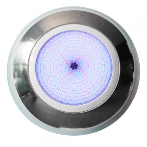 China wall mounted remote control 100% waterproof resin LED underwater pool light on sale