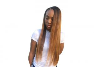 China Real 100 Human Hair Bundles Straight #1B30 Weave Extensions No Bad Smell on sale