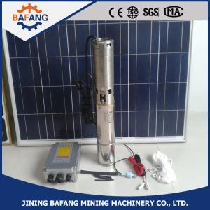 China Solar pumping system DC 12v/24v deep well submersible water pump on sale