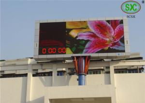 China High Refresh Frequency Electronic Full Color P10 Programmable Outdoor LED Video Display Board on sale