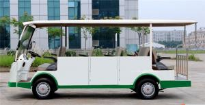 China Safety 14 Seats Electric Sightseeing Tour Bus With Closed Door For Reception on sale
