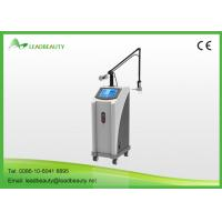10600nm CO2 Fractional Laser Machine For Acne Scar Treatment , Tighten Skin