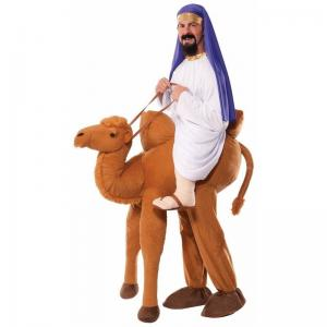 China Velvet / Suede Ride on Camel Animal Mascot Costumes Fancy Dress on sale